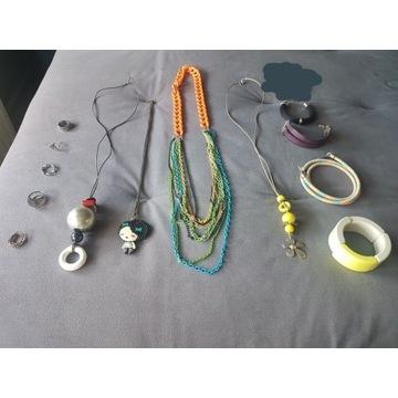Biżuteria mix home made & sklepowa