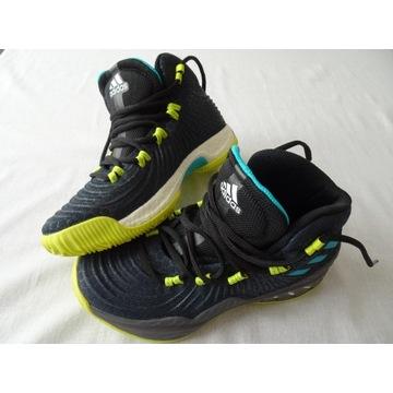 Buty Adidas do koszykówki eu 34 wkładka 22 cm.