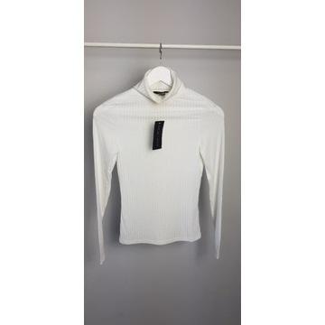 New look biały lekki golf