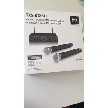 IMG Stage Line TXS-812SET mikrofony bezprzewodowe