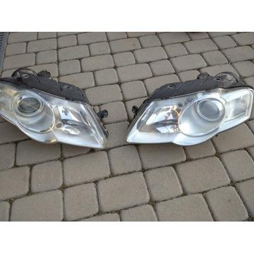 Lampy przednie Passat B6