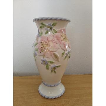 Piękny porcelanowy wazon Anglia Licytacja