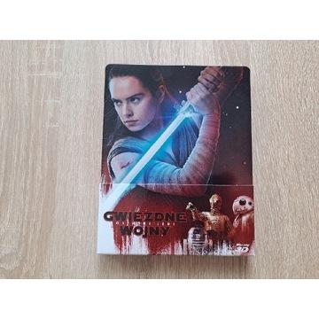 Ostatni Jedi Steelbook Blu-ray Polskie Wydanie