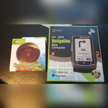 Licznik rowerowy Meilan M1 GPS Nawigacja