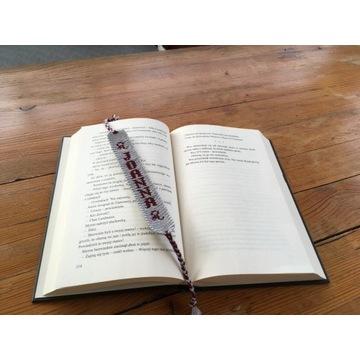 Zakładka do książki z Twoim napisem na zamówienie
