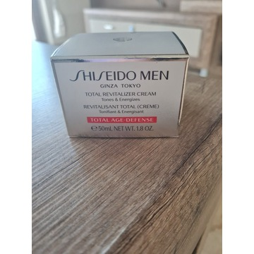 Shiseido MEN Cream. Nowy.