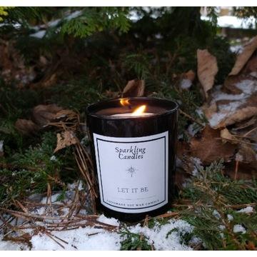 Let it be - zapachowa świeca sojowa naturalna eko