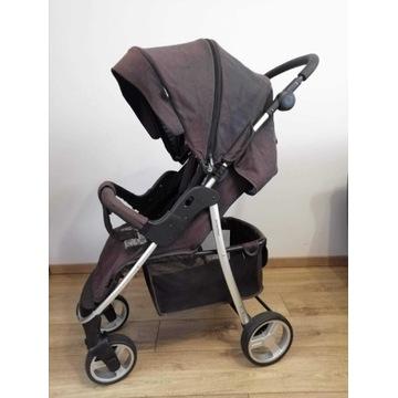Wózek spacerowy 4 BABY RAPID PREMIUM SILVER