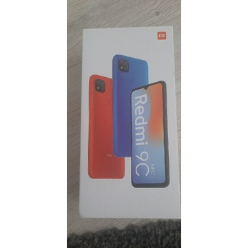 Xiaomi Redmi 9C Twilight Blue niebieski NOWY