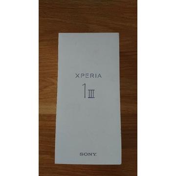 Nowa Sony Xperia 1 M3 MIII dual sim OLED 4K HDR 5G