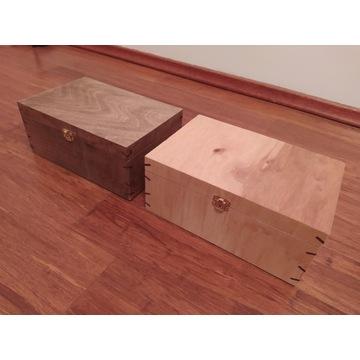 Pudełko szkatułka drewniana na biżuterię