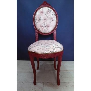 """Krzesło  Ludwik po całkowitej renowacji.""""MaSens"""""""