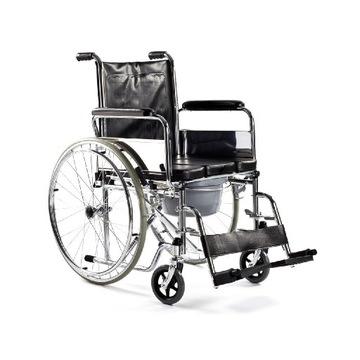 Wózek inwalidzki toaletowy