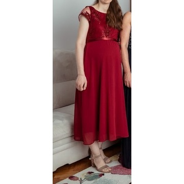 Sukienka ciążowa elegancka rozm. 38