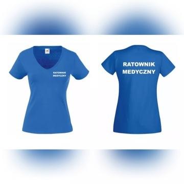 Koszulka Ratowni Medyczny, NOWA, Damska 2XL