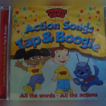 Piosenki angielskie dla dzieci płyta CD