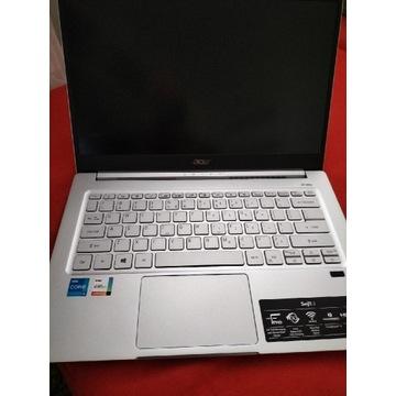 Acer Swift 14 cali FHd, i5 11 gen. 8Gb/512 GB gwa