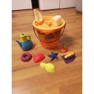 Wiaderko do piasku B.Toys z akcesoriami