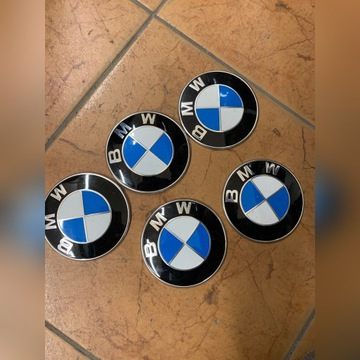 Emblemat 82mm, znaczki, oryginał klapa, maska BMW