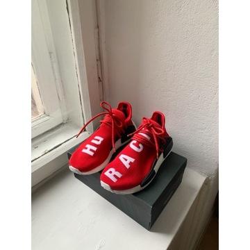 Pharrell Williams x Adidas NMD red Human Race