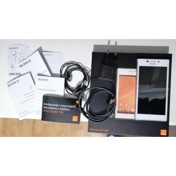 Smartfon SONY XPERIA M2 LTE D2303 biały b.d. stan