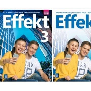 KOMPLET PODRĘCZNIK  i ĆWICZENIA EFFEKT 3.