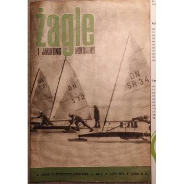 Żagle czasopismo turystyczne 102 numry z lat 70-80