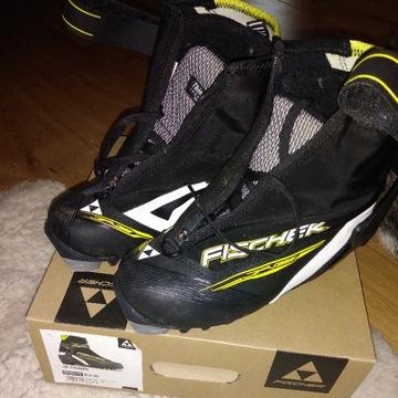 Buty do nart biegowych - Fischer JR Combi roz. 35