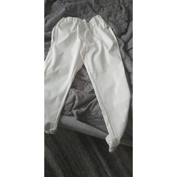 NOWE spodnie LEMONADA śmietanowe 36