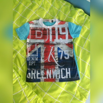 T-shirt koszulka chłopak 110
