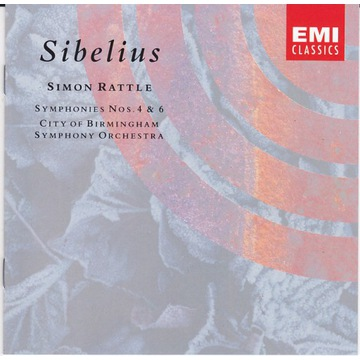 Sibelius / Symphonies 4,6 / Rattle ,City of Birmin