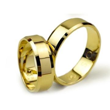 Złote obrączki Jubiler Goldrun Bytom