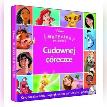 Disney Muzyczne Przygody piosenki z filmów 2 CD