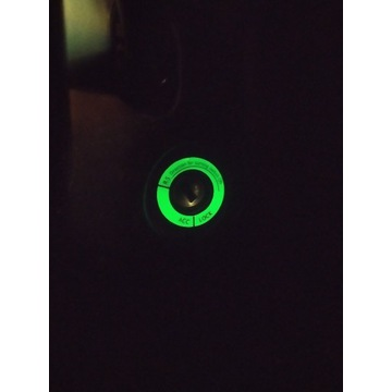 [NOWE] Nakładka fluorescencyjna na stacyjkę