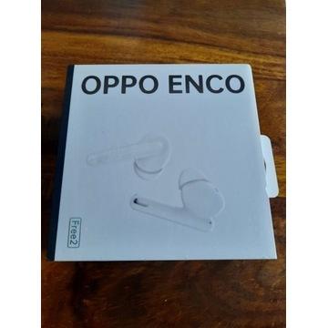 Słuchawki OPPO Enco Free2. NOWE, 24 mc. Gwarancji