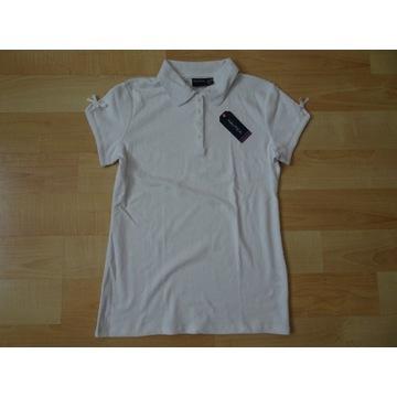 Koszulka NAUTICA biała, 16 lat ,rozmiar 166