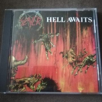 Slayer Hell Awaits 1985 r wydanie COMBAT