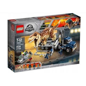 LEGO JURASSIC WORLD 75933 TRANSPORT T-REXA