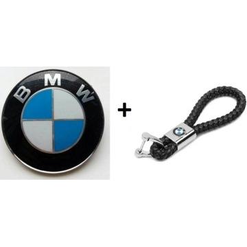 Emblemat BMW 82mm, 78mm, 74mm + breloczek BMW