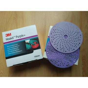 3M Purple+ Wielootworowe krążki ścierne P600 50913
