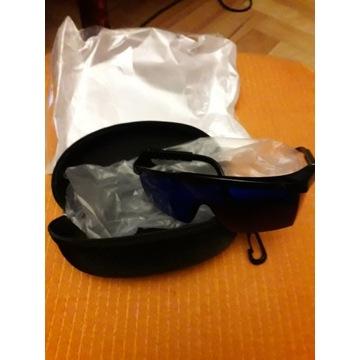 Niebieskie okulary ochronne E-TING 590nm-690nm Och
