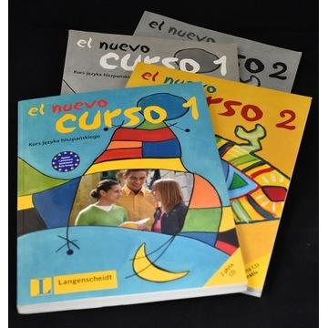 El nuevo curso 1-2+2CD + poradniki metodyczne zest