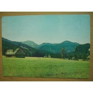 Tatry Zachodnie Dolina Chochołowska 1964