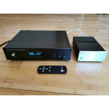 DAC DSD Sabre ES9018 XLR I2S combo z USB konwerter