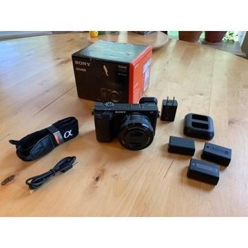 Sony a6400 z obiektywem Sony 16-50mm OSS 3.5-5.6f