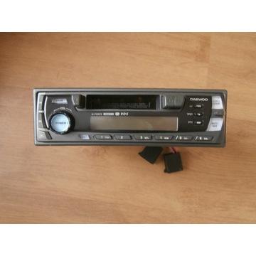Radio samochodowe Daewoo ze ściąganym panelem