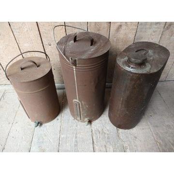 Stare bańki zestaw 3 sztuk