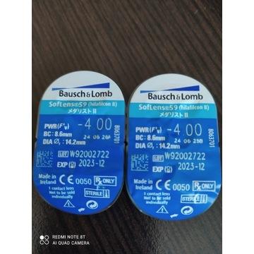 Soczewki kontaktowe jednodniowe BAUSCH+LOMB