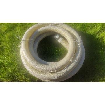 Rura drenarska filtracyjna PCV fi 100 otulina 15m