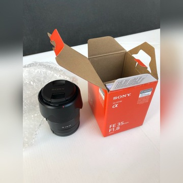 Sony FE 35mm f/1.8 FVAT 23% + Filtr Hoya Antist UV